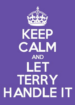 Keep Calm Terry